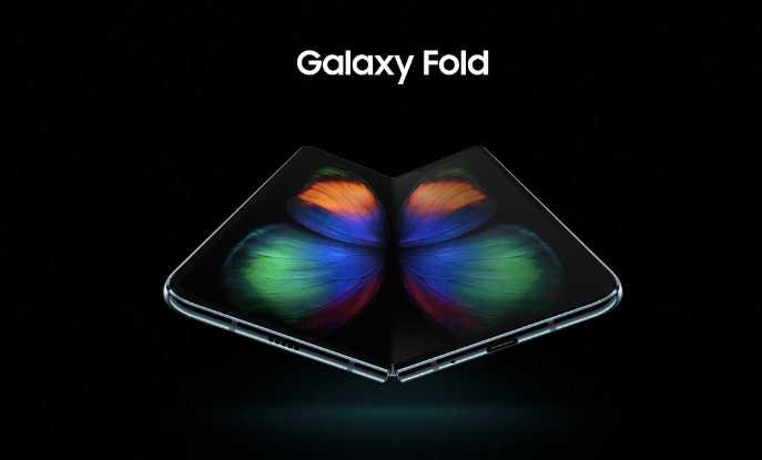 Samsung GALAXY FOLD ecran decupaj neobisnuit