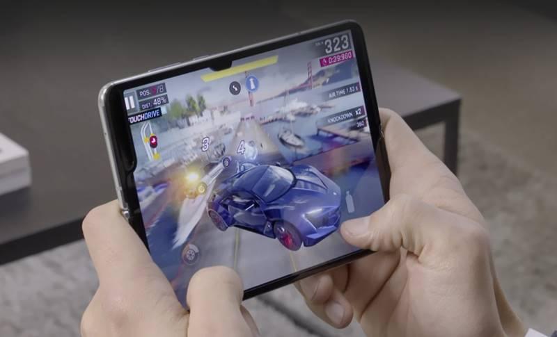 Samsung GALAXY FOLD folosesti