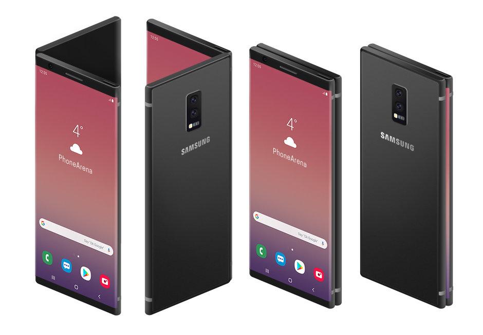 Samsung GALAXY FOLD minciuna pacalit internet