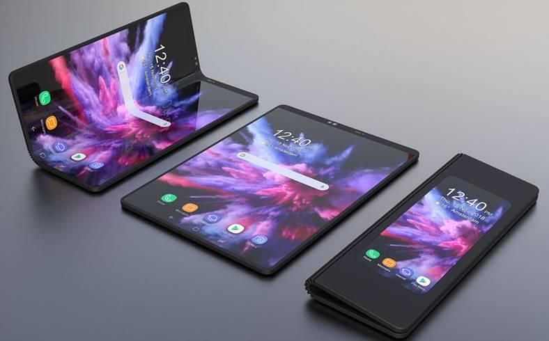 Samsung GALAXY FOLD nume telefon pliabil