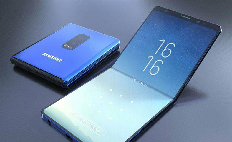 Samsung GALAXY FOLD teaser