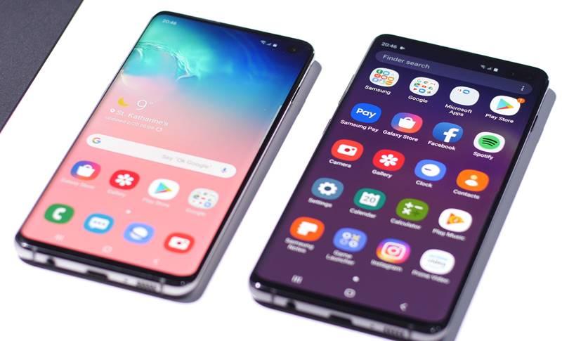Samsung GALAXY S10 folie ecran
