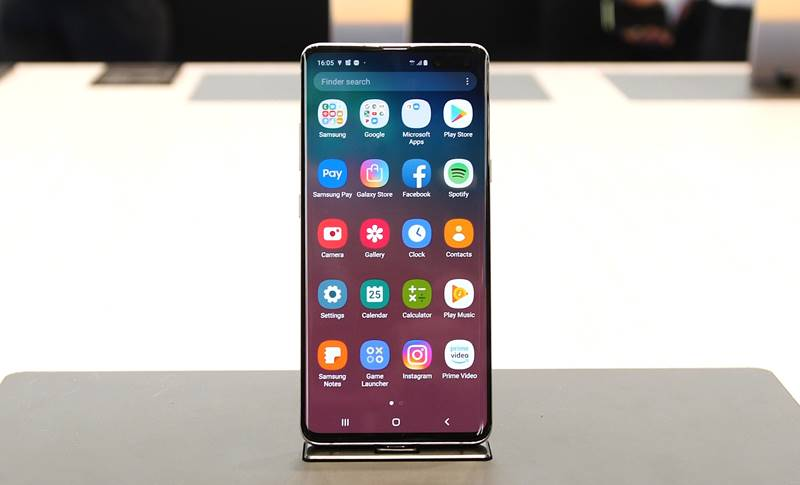 Samsung GALAXY S10 fragil