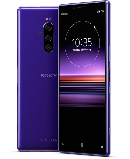 Sony XPERIA 1 Ecran 4K OLED HDR