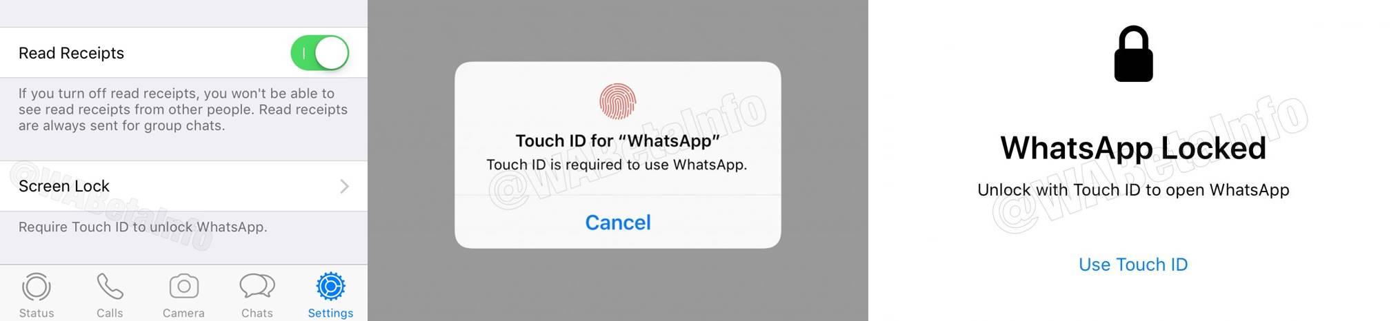 WhatsApp securitate ios android