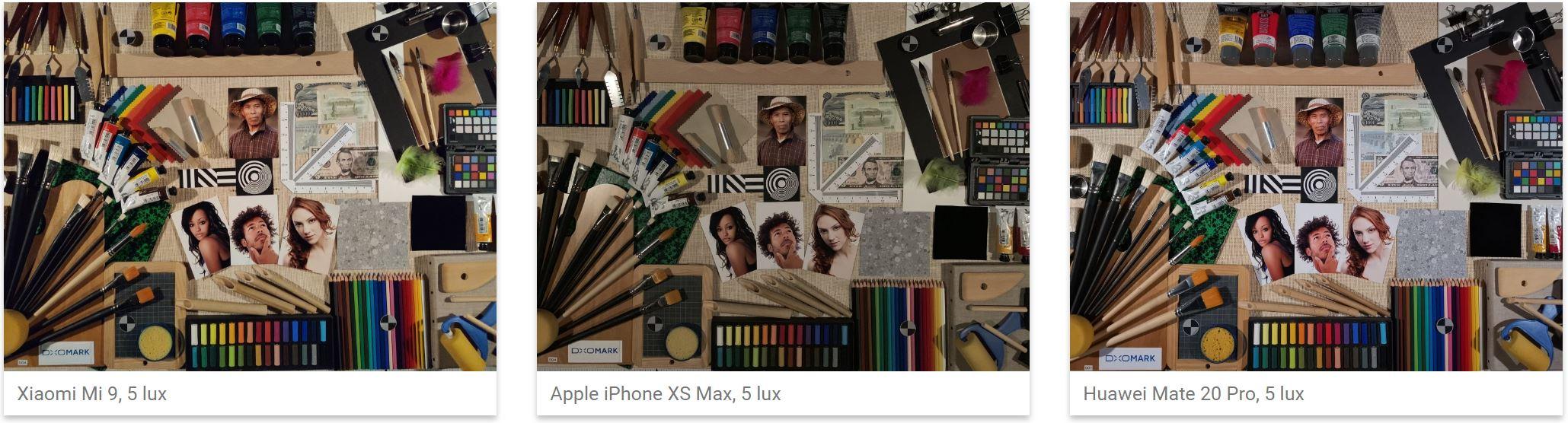 Xiaomi Mi 9 camera iphone xs max poze
