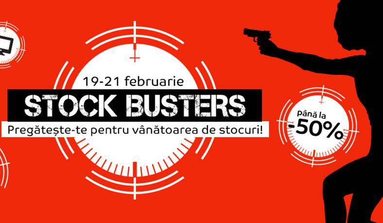 eMAG STOCK BUSTERS OFERTE
