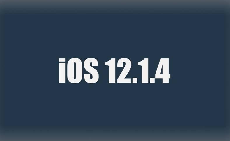 iOS 12.1.4 performante iOS 12.1.3