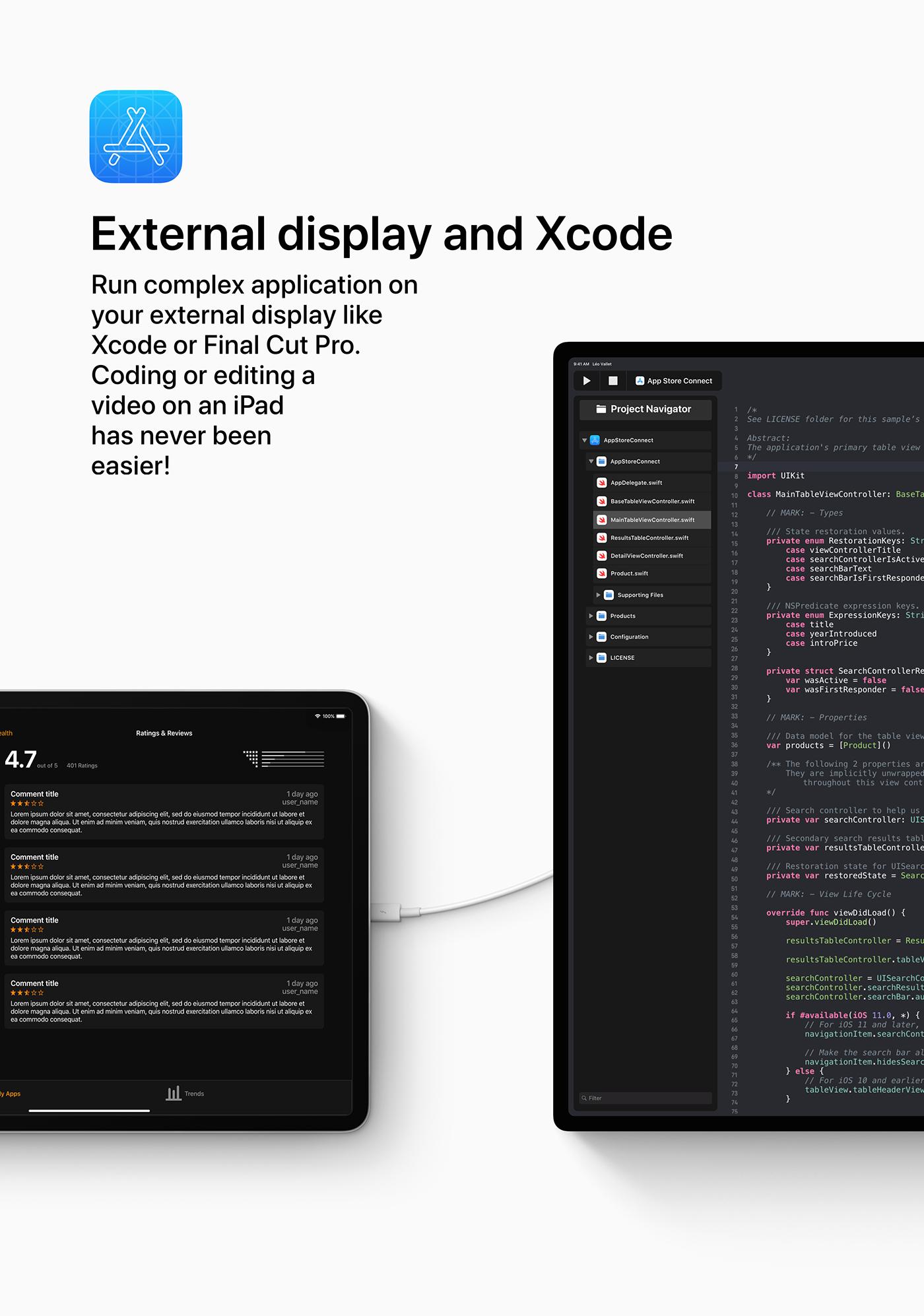 iOS 13 concept xcode
