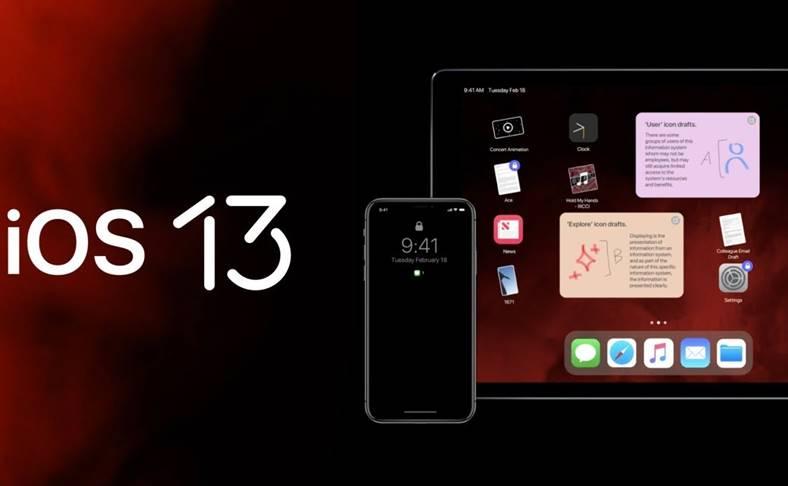 iOS 13 instalare