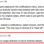 Android Q notificari google