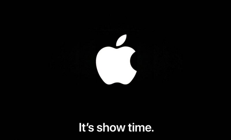 Apple conferinta Show Time