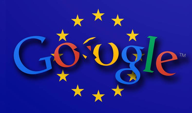 Comisia Europeana AMENDA URIASA Google