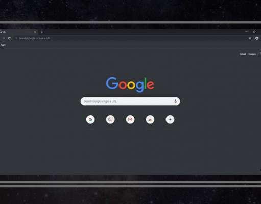 Google Chrome dark mode mac