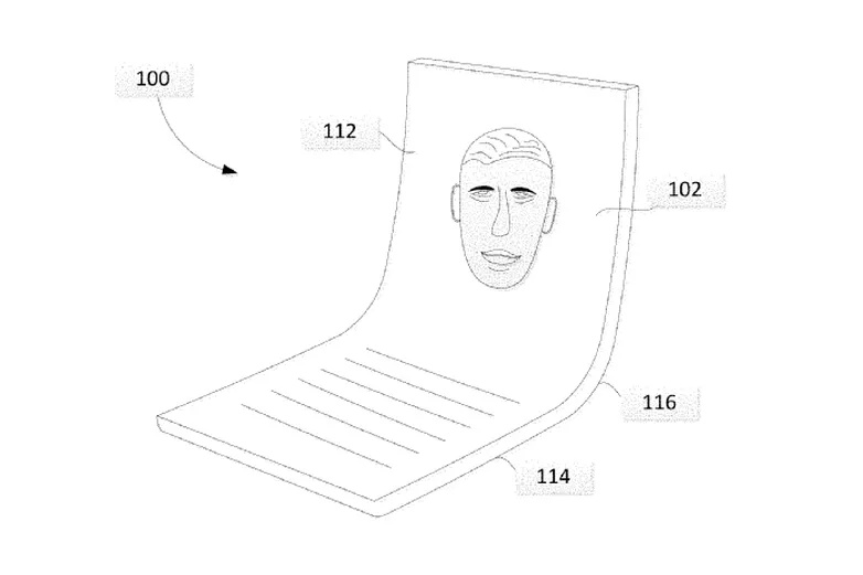 Google telefon pliabil prototip