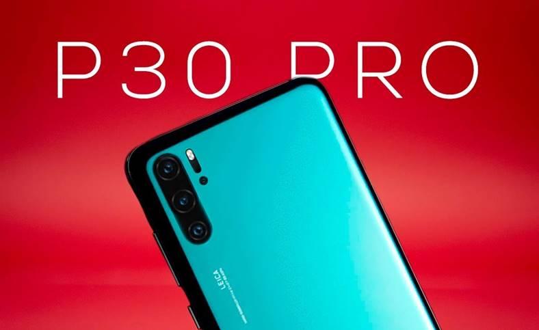 Huawei P30 PRO camera zoom optic 7.8x ecran