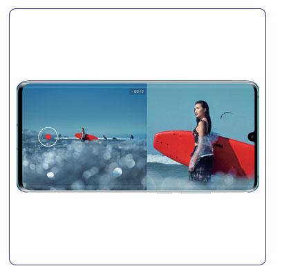 Huawei P30 PRO functie dual-view
