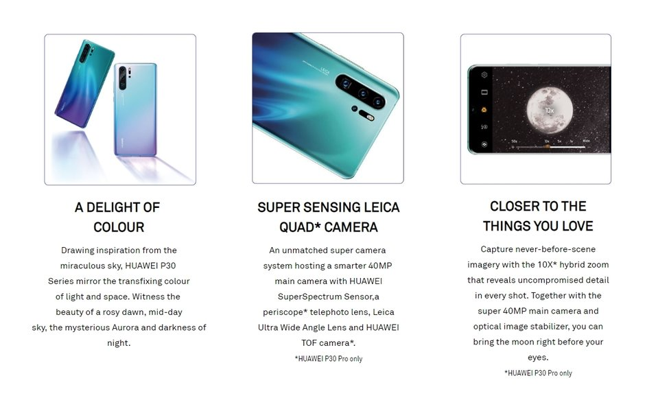 Huawei P30 PRO noutati camera 1