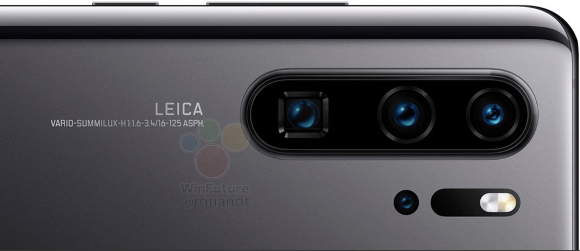 Huawei P30 Pro specificatii camera quad
