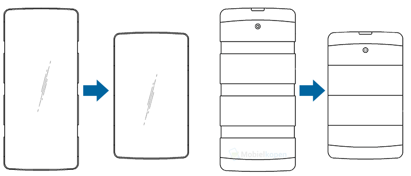 LG smartphone extensibil concept