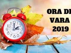 ORA DE VARA CAND SE DA CEASUL INAINTE IN 2019