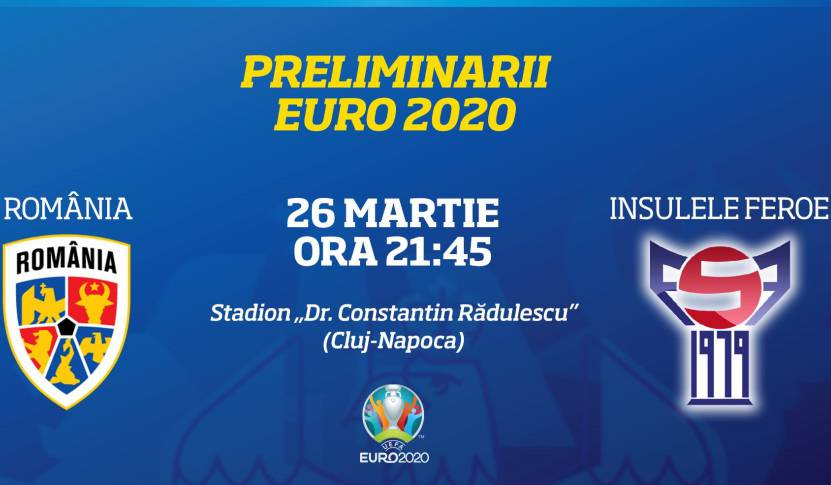 ROMANIA - INSULELE FEROE LIVE PRO TV EURO 2020