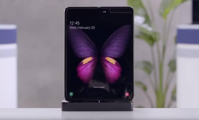 Samsung GALAXY FOLD impresii