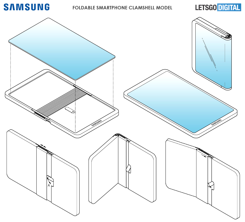 Samsung GALAXY FOLD succesor huawei