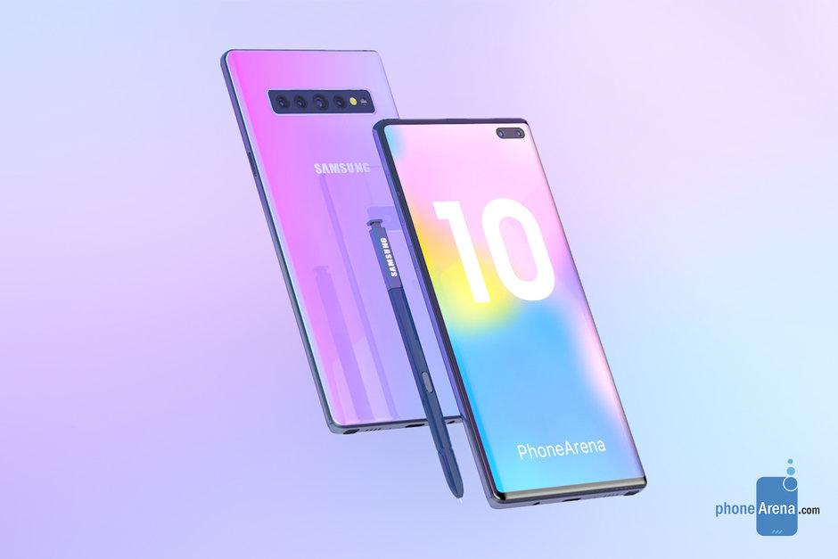 Samsung GALAXY NOTE 10 concept 1