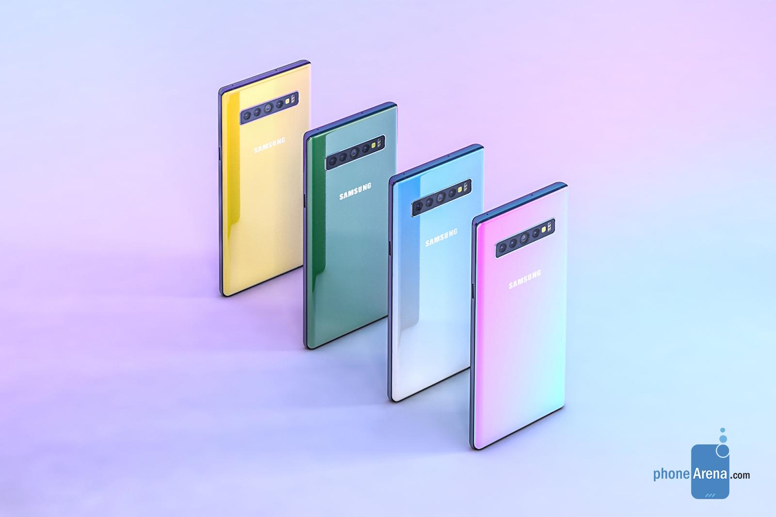 Samsung GALAXY NOTE 10 concept 3