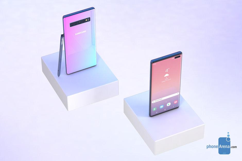 Samsung GALAXY NOTE 10 concept 6