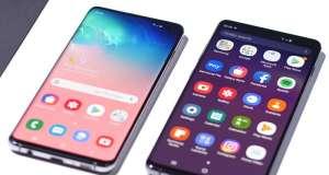Samsung GALAXY S10 amprente