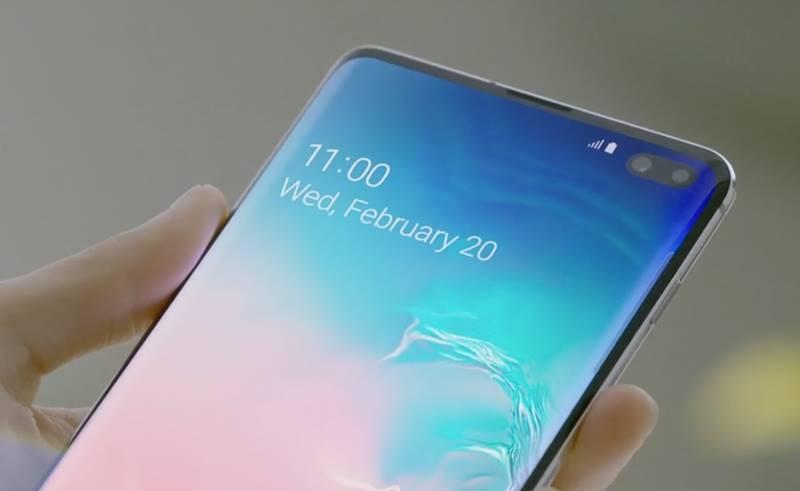 Samsung GALAXY S10 promovare