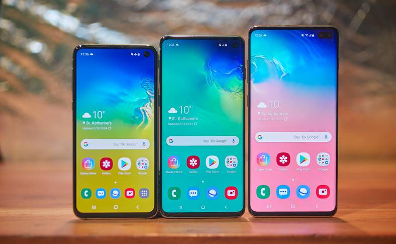 Samsung GALAXY S10 updates