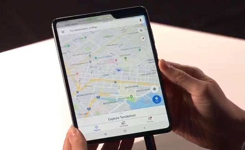 Samsung ecran galaxy fold