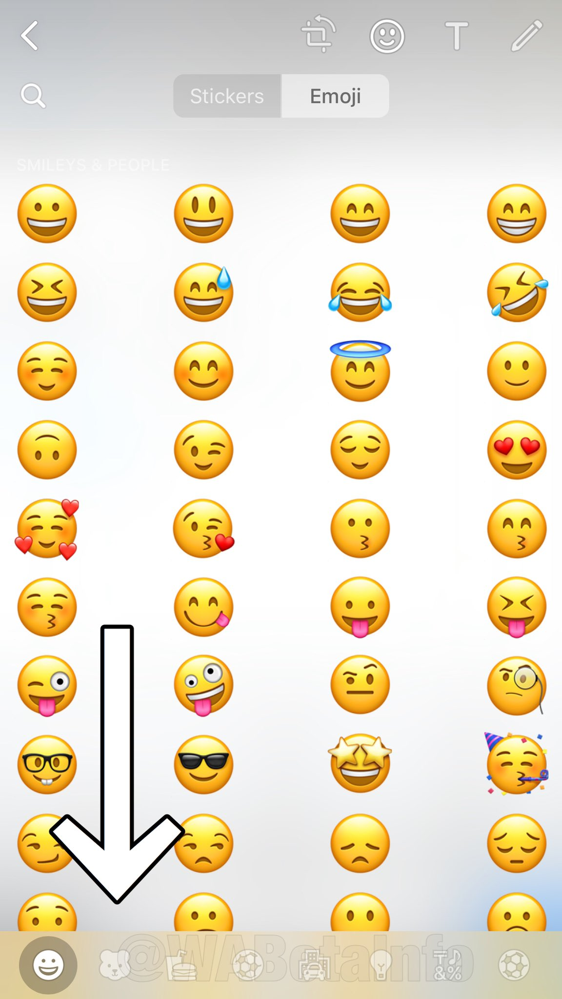 WhatsApp update noutati emoji
