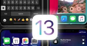 iOS 13 lansare dark mode