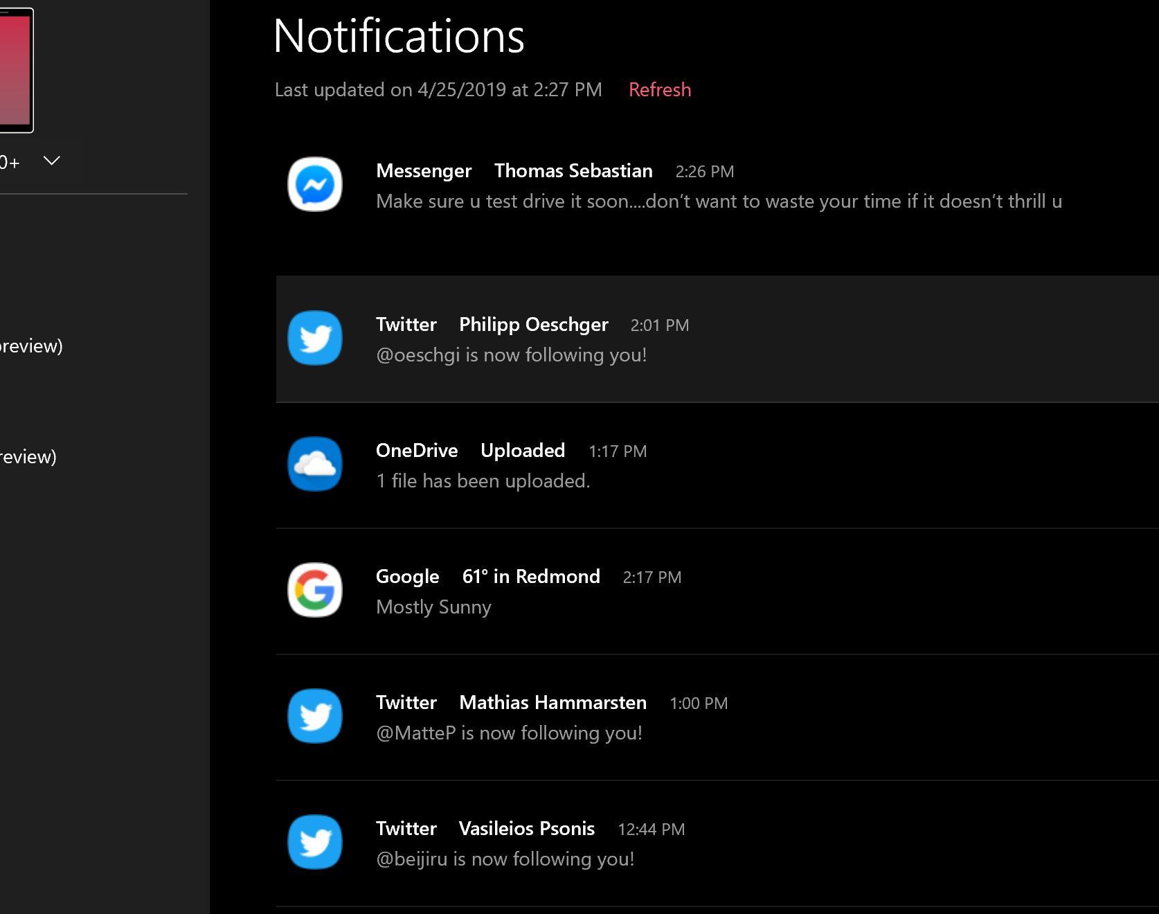 Android notificari windows 10 telefoane
