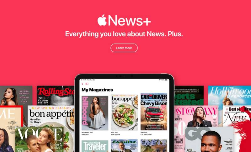 Apple News Plus abonati