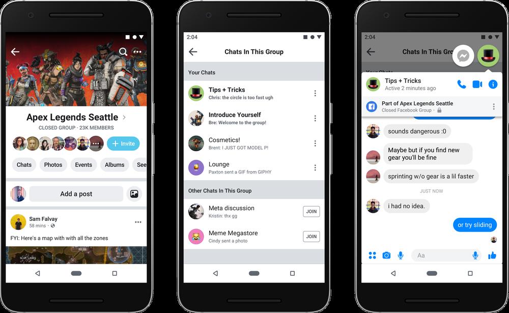 Facebook redesign grupuri 2