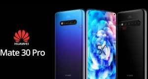 Huawei MATE 30 PRO concurenta