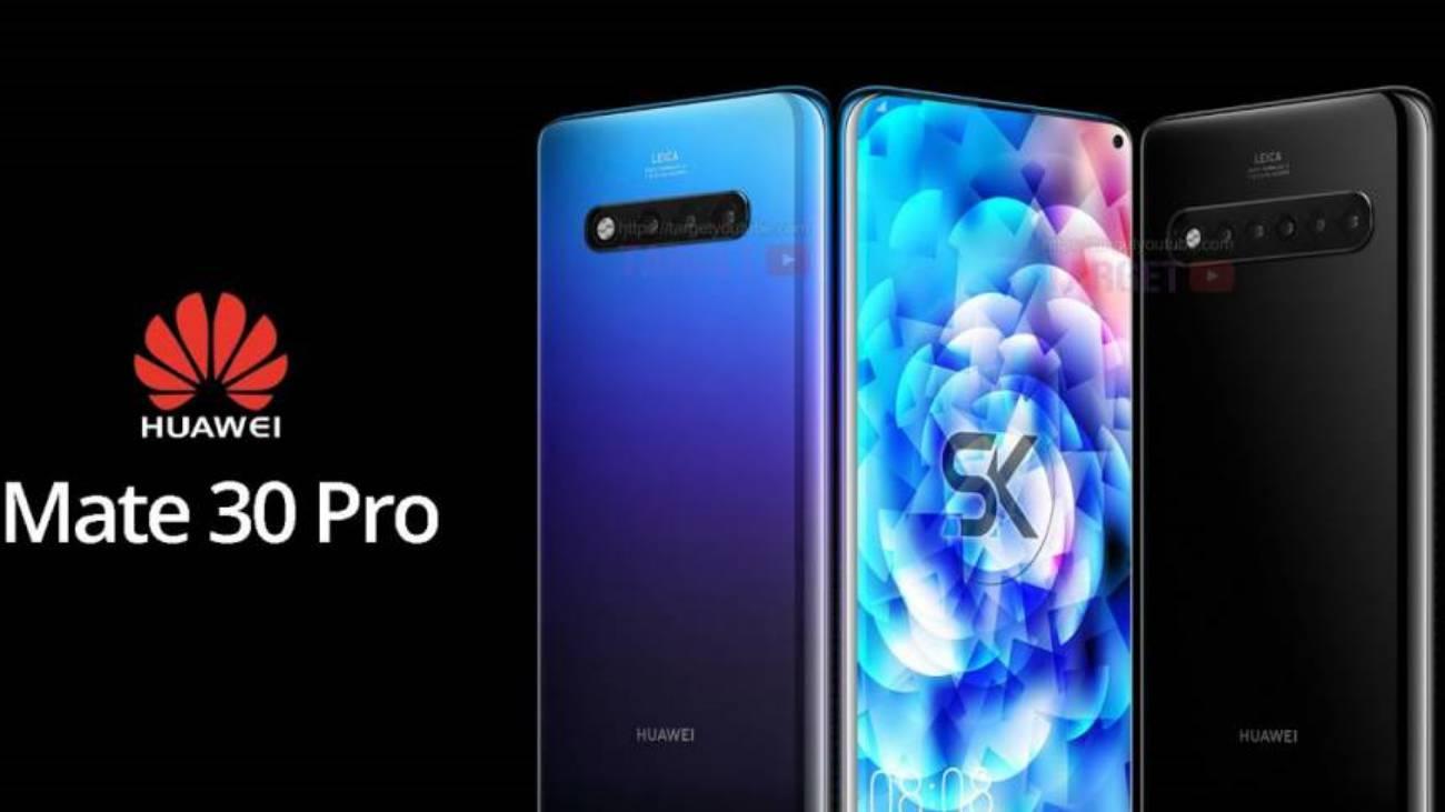 Huawei MATE 30 PRO surpriza