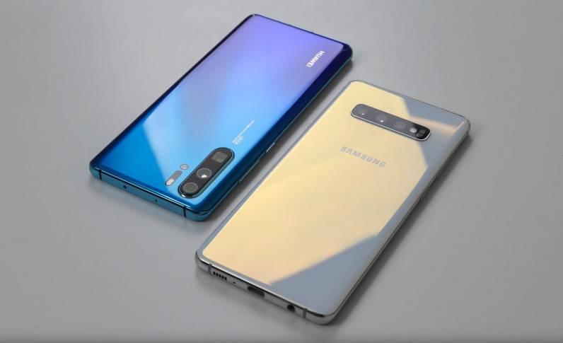 Huawei P30 PRO camera samsung galaxy s10 plus