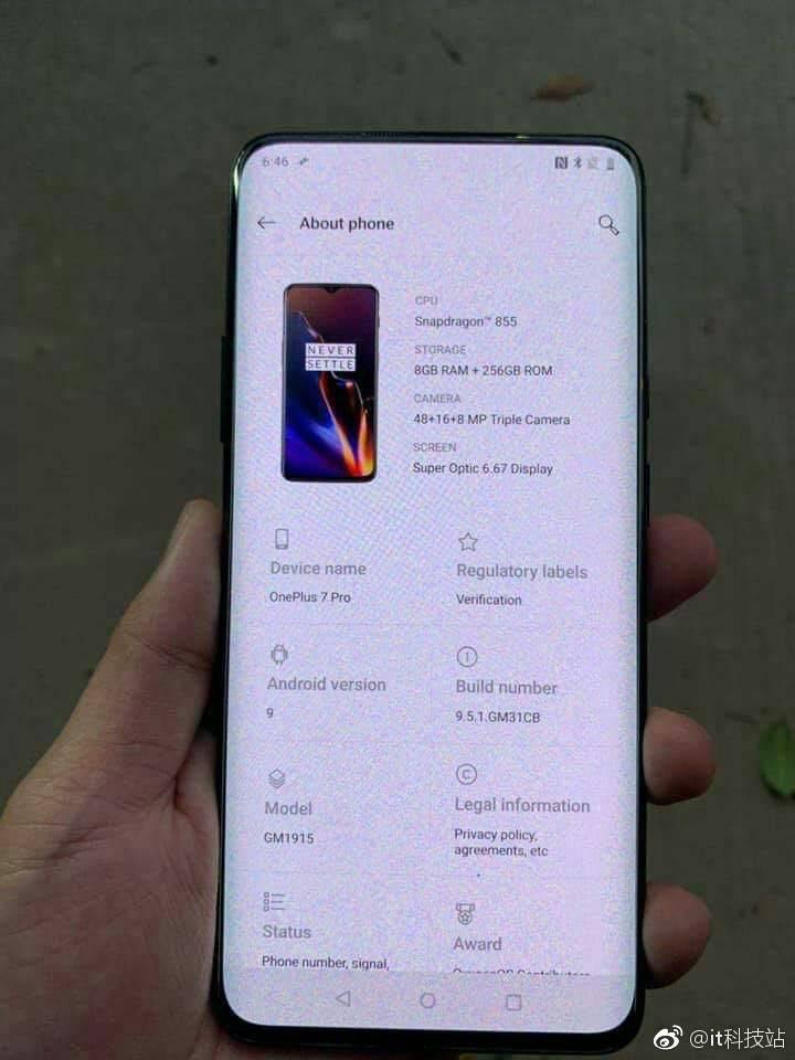 OnePlus 7 5g 2