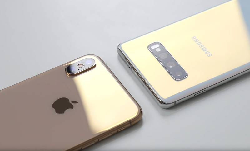 Samsung GALAXY S10 Plus plus autonomie iphone xs max