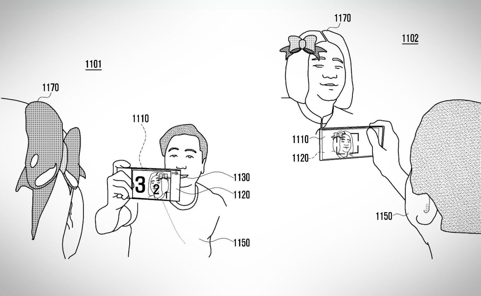 Samsung ecran pliabil