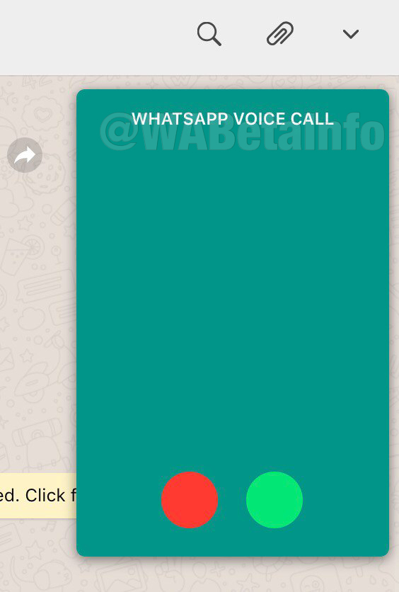 WhatsApp Web apeluri voce