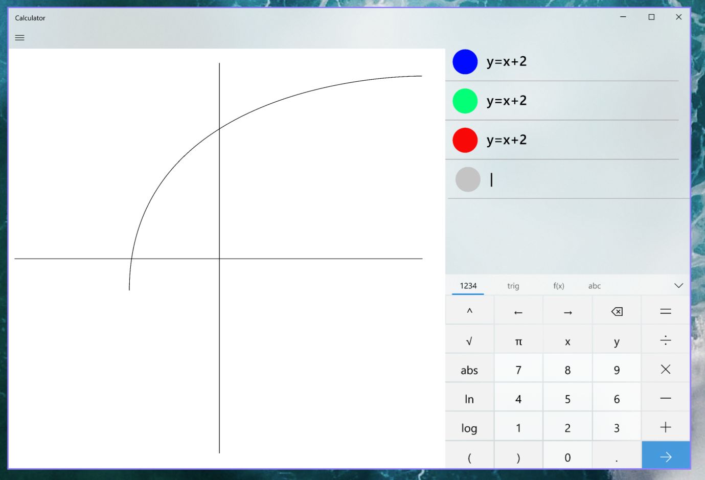 Windows 10 calculator matematica
