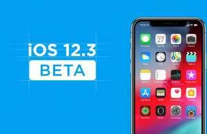 iOS 12.3 beta 3