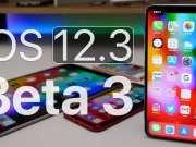 iOS 12.3 public beta 3 instalare